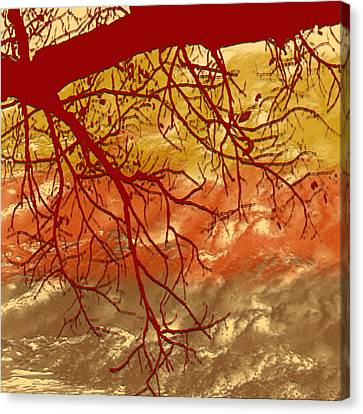Autumn Art Canvas Print by Milena Ilieva
