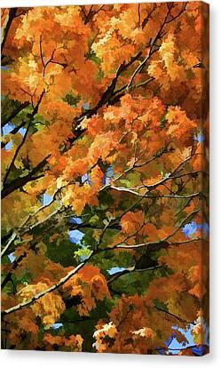 Autumn Canvas Print by Art Spectrum