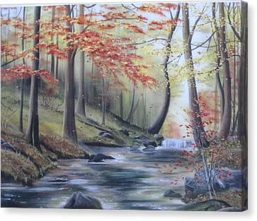 Autumn At Abrams Creek Canvas Print