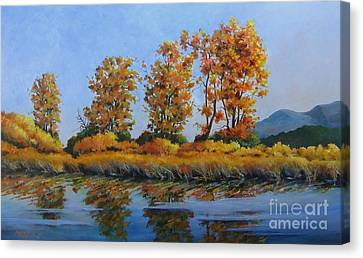 Autumn At Fraser Valley Canvas Print