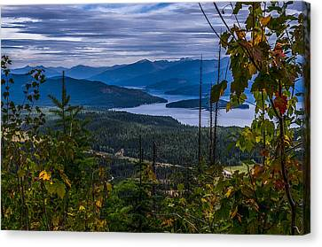 Autumn At Priest Lake Canvas Print