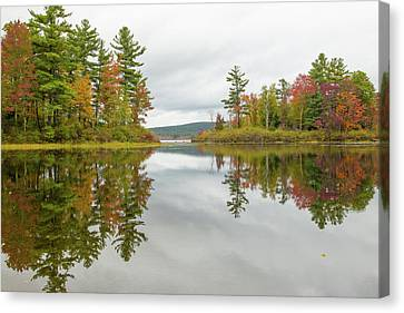 Canvas Print - Autumn At Wood Creek by Karol Livote