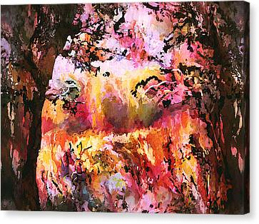 Reds Of Autumn Canvas Print - Autumn Beauty by Natalie Holland