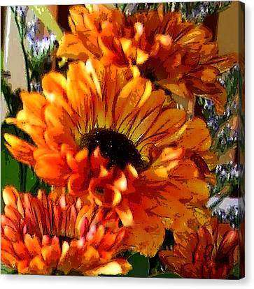 Autumn Bouquet Canvas Print by Kathleen Stephens