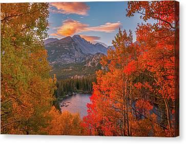 Autumn's Breath Canvas Print by Darren White