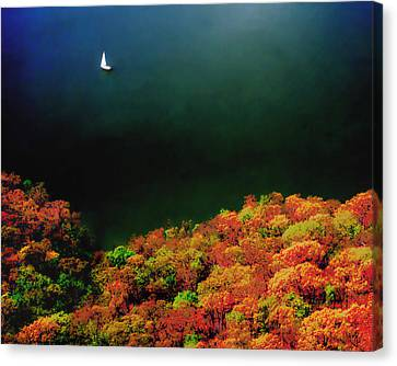 Autumn Breeze Canvas Print by Don Spenner