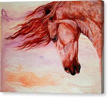 Autumn Breeze Canvas Print by Sherry Shipley