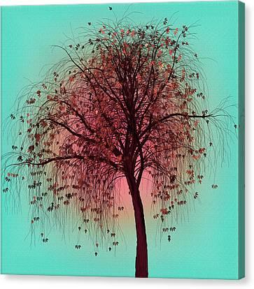 Autumn Bronze Canvas Print