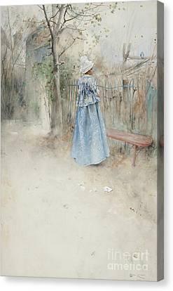 Autumn Canvas Print by Carl Larsson
