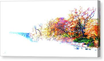 Autumn Colors Canvas Print by Hannes Cmarits