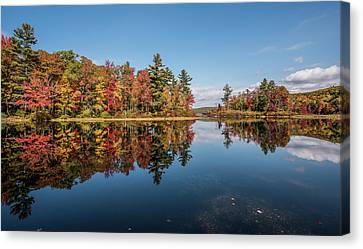 Litchfield County Canvas Print - Autumn Colors In Litchfield County by Morris Finkelstein