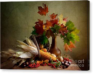 Autumn Colors Canvas Print by Nailia Schwarz
