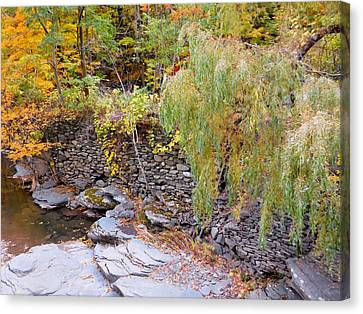 Day Canvas Print - Autumn Creek 7 by Lanjee Chee