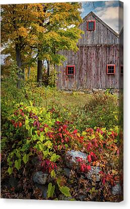 Litchfield County Canvas Print - Autumn Day by Bill Wakeley