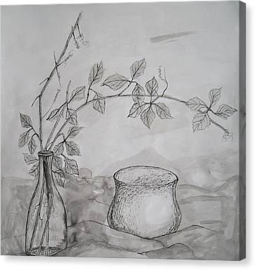 Autumn Dream Canvas Print by Georgeta  Blanaru