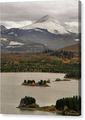 Autumn Enters Breckenridge Colorado Canvas Print