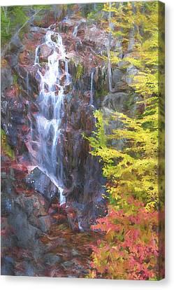Autumn Falls Away II Canvas Print by Jon Glaser