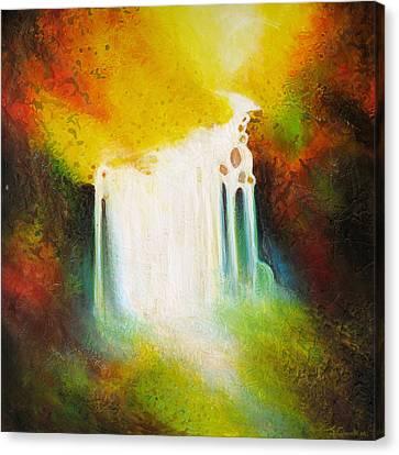 Autumn Falls Canvas Print by Jaison Cianelli
