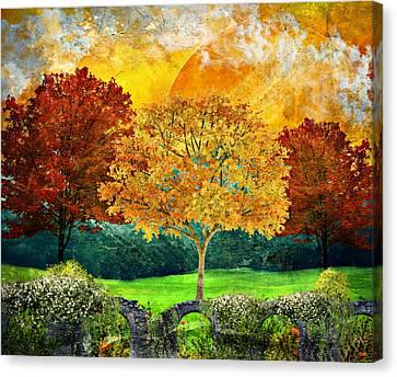 Autumn Fantasy Canvas Print by Ally White