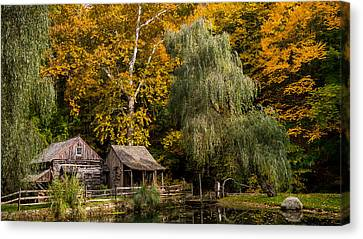 Autumn Farm Canvas Print