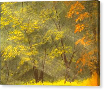 Autumn Gift Canvas Print