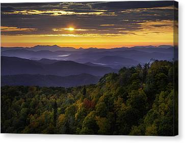 Autumn Greeting Canvas Print by Johan Hakansson