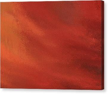 Reds Of Autumn Canvas Print - Autumn Grunge by Dan Sproul