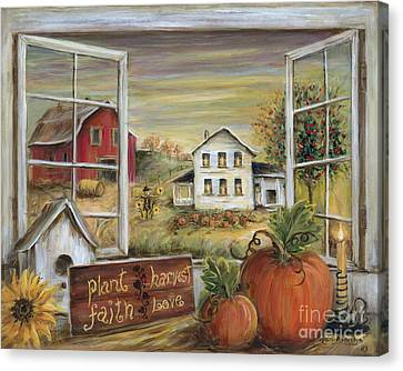 Canvas Print - Autumn Harvest by Marilyn Dunlap