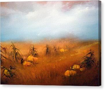 Autumn Harvest Canvas Print by Sally Seago
