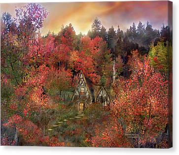 Autumn Hideaway Canvas Print