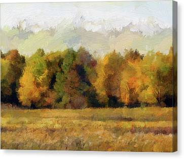 Autumn Impression 4 Canvas Print