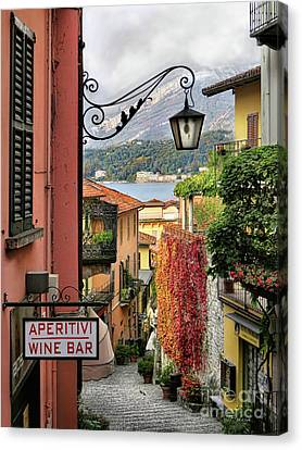 Autumn In Bellagio Canvas Print