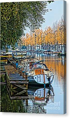 Autumn In Holland-2 Canvas Print by Casper Cammeraat