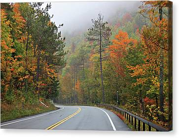 Autumn In Keene Valley Canvas Print