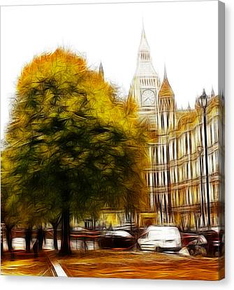 Autumn In London Canvas Print by Steve K
