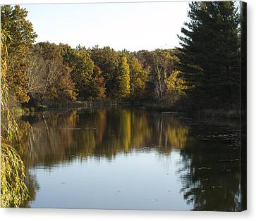 Autumn In Mears Michigan Canvas Print
