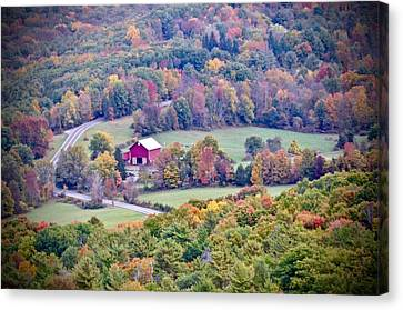 Autumn View, Mohonk Preserve Canvas Print
