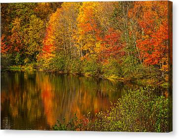 Autumn In Monroe Canvas Print