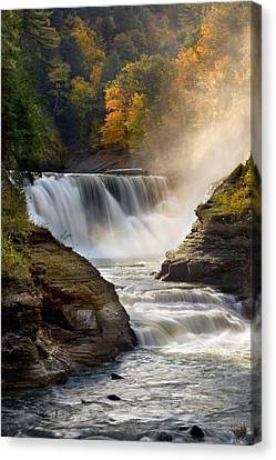 Autumn In New York Canvas Print by Timothy McIntyre