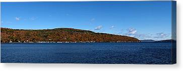Autumn In The Finger Lakes Canvas Print by Joshua House