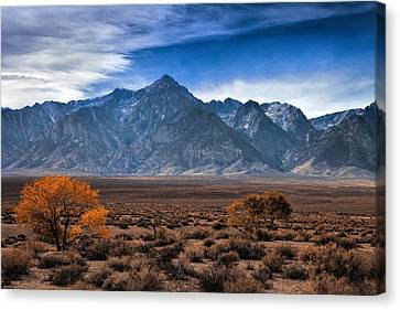 Autumn In The Sierra Mountains Canvas Print by Andrew Soundarajan