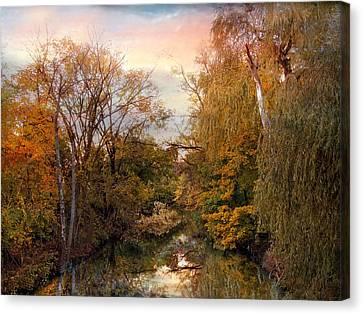 Autumn Invitation Canvas Print by Jessica Jenney