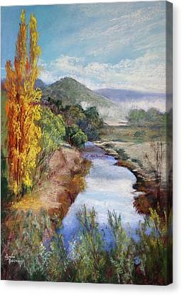 Autumn, Jamieson Canvas Print by Lynda Robinson