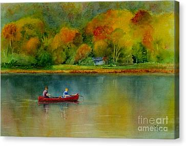Autumn Canvas Print by Karen Fleschler