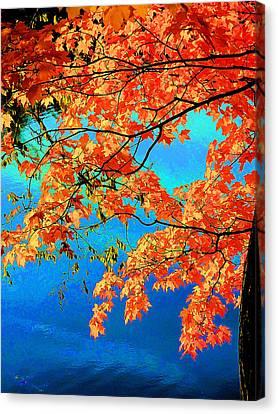 Autumn Leaves 8 Canvas Print