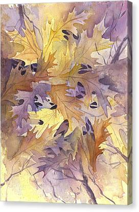 Autumn Leaves Canvas Print by Gladys Folkers