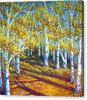 Autumn Light Canvas Print by Sharon Marcella Marston