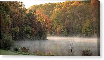 Autumn Lust  Canvas Print by Victor Hiltz
