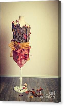 Autumn Mannequin Canvas Print by Amanda Elwell