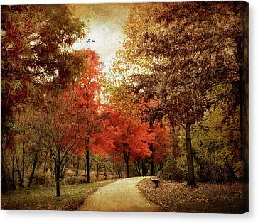 Autumn Maples Canvas Print by Jessica Jenney